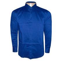 Camisa Social Calvin Klein Azul Royal Ck333