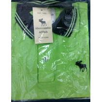 Camisa Pólo Abercrombie E Fitch - Masculina