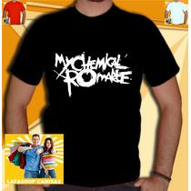 Camiseta My Chemical Romance Camisa Banda Rock Mcr M C R