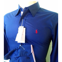 Camisa Social Tommy Armani + Brinde Polo Hollister / Lacoste