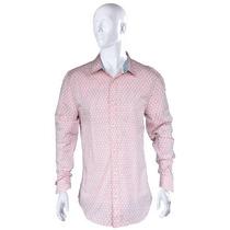 Camisa Masculina Hering Slim Em Algodão Rosa Claro Oqlevar