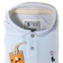 Camisa Masculina Polo Sheepfyeld 100% Algodão Piquet!!!