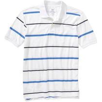 Camiseta Polo Importada 5xl - 5g - Ggggg Faded Glory Usa