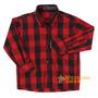Camisa Infantil Xadrez Manga Longa - Rodeo Western 15344