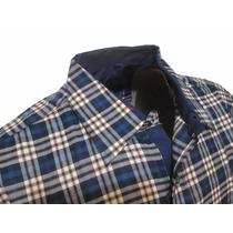 Camisa Social Masculina Xadrez Slim Original - Lb Grifes