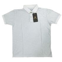 Camisa Polo John John Original 100%algodão Lavada Pronta E