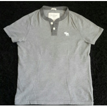 Camiseta Polo Abercrombie & Fitch A&f Muscle Original Gg