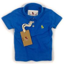 Camisa Polo Infantil, Qualidade Importada Original Monaco