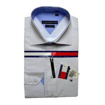 Kit 3 Camisa Camiseta Social Tommyhelfinger Slim Fit Modelos