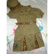 Fantasia Infantil Safari Dino