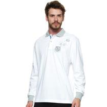 Camisa Polo Masculina Branca - La Martina