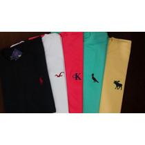 Kit 5 Camisetas Hollister Calvin Klein Polo Reserva