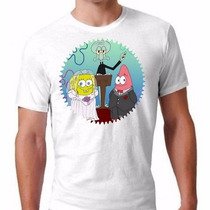 Camisa Bob Esponja Lgbt