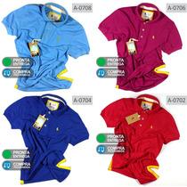Combo 4 Camisas Polo S&f, Qualidade De Importadas Originais