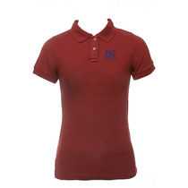 Abercrombie & Fitch 51659570 Vermelho Mulheres Polo Camisa