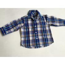 Tommy Hilfiger Camisa Xadrez Infantil Tamanho 2 Anos