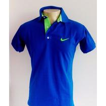 Kit Lote 3 Camisas Camiseta Polo Nike Várias Cores