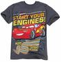 Camisa Original Disney Carros Mc Queen P Entrega