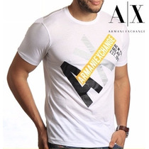 Tshirt Armani Exchange Original Masculina Camiseta No Brasil