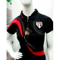 Camisa Polo São Paulo Feminina