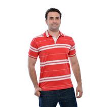 Camisa Polo Listrada Diversas Cores Zambele Algodao