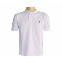 Camiseta Camisa Polo Reserva Branca Masculino
