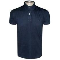 Camisa Polo Ricardo Almeida Camiseta Preta