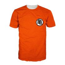 Camisa Nerd Dragon Ball - Camiseta Geek Uniforme Goku Dbz