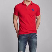 Camisa Camiseta Polo Hollister Abercrombie Masculina Oferta!