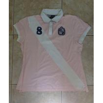 Lote Com 2 Camisas Pólo Da Tommy Original Feminina Xl-usadas