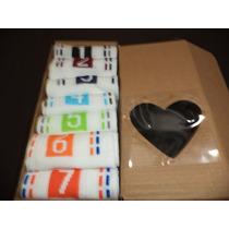 Meia Sport Semanal Kit Com 7 Pares Importada 3/4