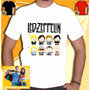 Camiseta Led Zeppelin South Park Camisa Bandas Rock Punk Hea