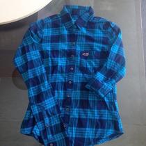 Camisa Xadrez Feminina Flanelada Hollister - Original New