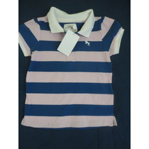 Camisa Polo Bebe Importada H&m 12-18 M
