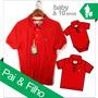 Tal Pai Tal Filho Camisa Polo Sheepfyeld Original Exportação