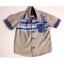 Camisa Social Infantil Meninos Importada