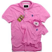Moda Pai Filho Camisa Polo Sheepfyeld Original Exportação