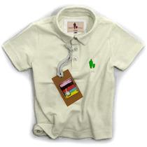 Camisa Polo/body Infantil Qualidade Importada Original Cor12