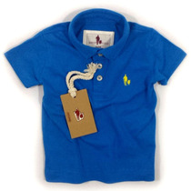 Camisa Polo/body Infantil Qualidade Importada Original Cor3