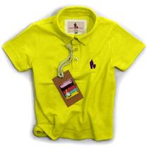 Camisa Polo/body Infantil Qualidade Importada Original Cor17