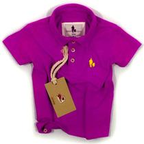 Camisa Polo/body Infantil Qualidade Importada Original Cor5