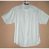 Camisa, Blusa Fem. Em Viscose Bordada-tam G = 105 Cm Busto