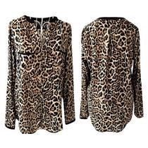 Camisa Feminina Animal Print Oncinha - Pronta Entrega