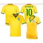 Camisas Da Seleção Brasileira Oficial 2014 Authentic Jogador