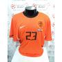 Camisa Holanda Home 10-11 V.der Vaart 23 Final Copa Imp