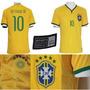 Camisa Seleção Brasileira Oficial 2014 - Super Promoção