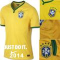 Camisa Futebol Seleção Brasileira Copa 2014 Oficial Brasil