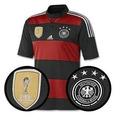 Camisa Alemanha 2014 / 2015 - Seleção Alemã Rubro-negra Away
