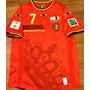 Camisa Bélgica Copa Do Mundo 2014 Vs Argentina Completa