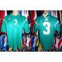 Nigéria Camisa Antiga De Jogo Tamanho 3g Número 3.